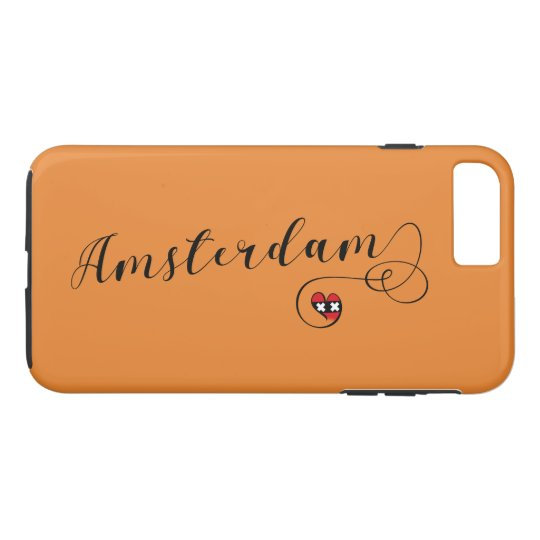 Heart Amsterdam Cell Phone Case, Holland iPhone 8