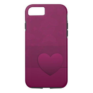 Heart and butterflies iPhone 8/7 case