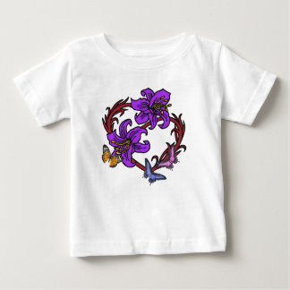 Heart and Butterfly Baby T-Shirt