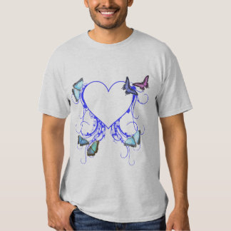 Heart and Butterfly T-shirts