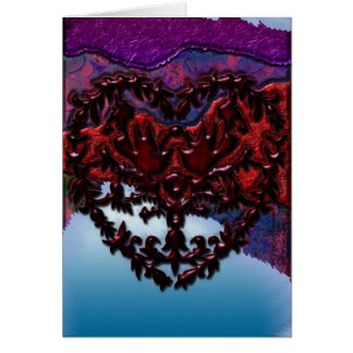 Heart And Doves Art II Greeting Card