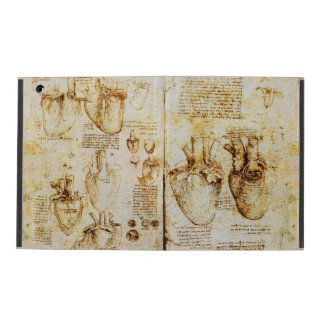 Heart And Its Blood Vessels Parchment iPad Covers