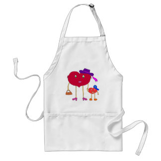 heart and son standard apron