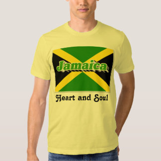 Heart and soul Jamaica t-shirts