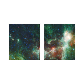 Heart And Soul Nebula Stretched Canvas Prints