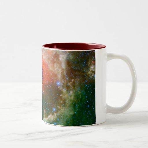 Heart And Soul Nebula Coffee Mug