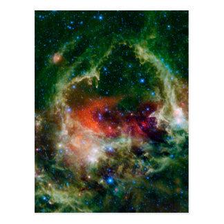 Heart And Soul Nebula Postcard