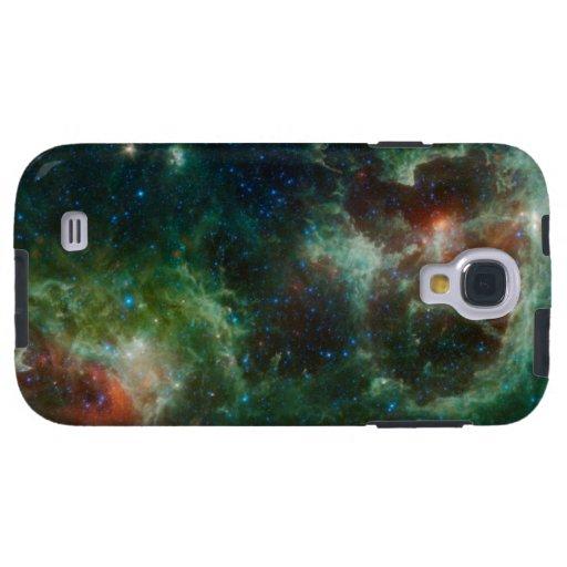 Heart and Soul nebulae infrared mosaic NASA Galaxy S4 Case