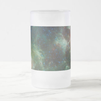 Heart and Soul nebulae infrared mosaic NASA Frosted Beer Mugs