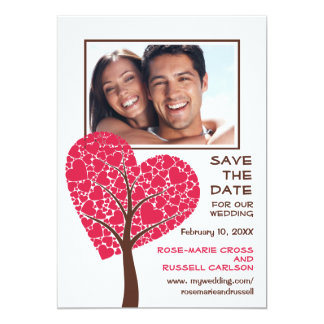 Heart and Soul Photo Save the Date Announcement