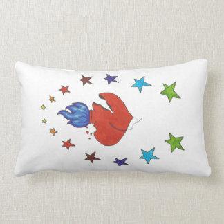 Heart and Stars Lumbar Pillow