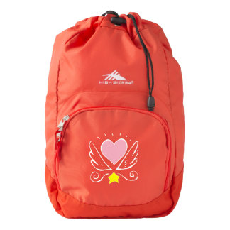 Heart and Wings Backpack