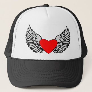 Heart and Wings Trucker Hat