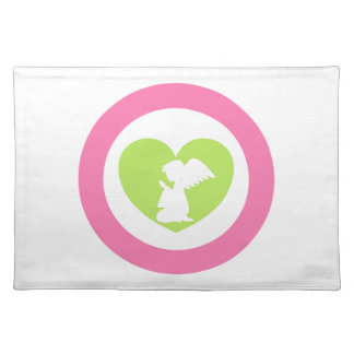 Heart Angel Placemat