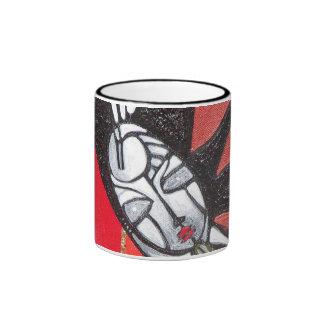 Heart Angel Ringer Mug