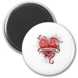 Heart Argentina Magnet