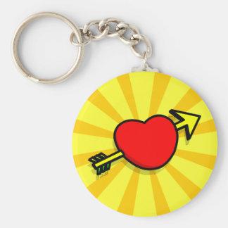 HEART ARROW Keychain