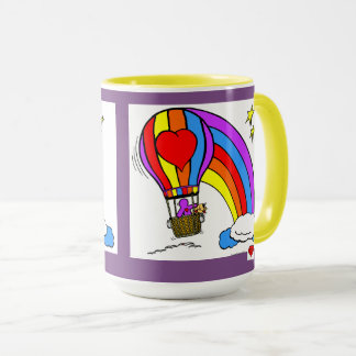 Heart Art Balloon Mug