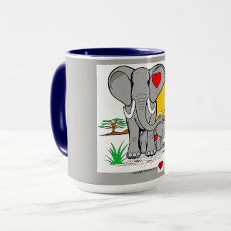 Heart Art Mug