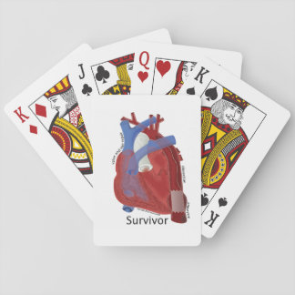 Heart Art Playing Cards by Kevin Shea