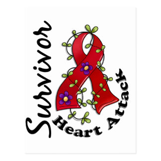 Heart Attack Survivor 15 Post Card
