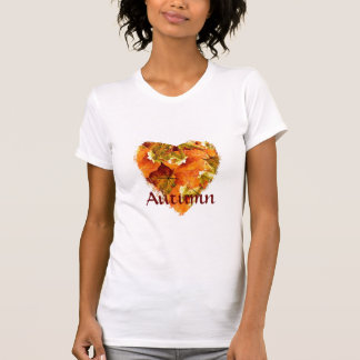 Heart, Autumn leaves T-Shirt