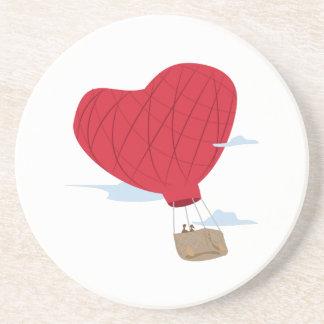 Heart Balloon Drink Coasters