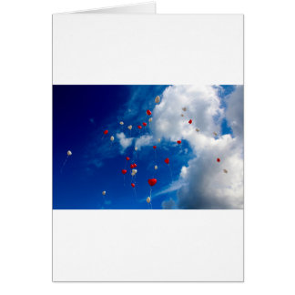 Heart Balloons Card
