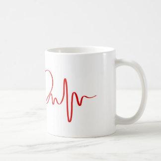 heart basic white mug
