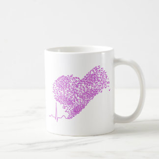 Heart_Beat Basic White Mug