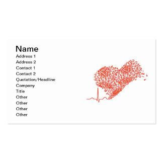 Heart_Beat Business Card Templates