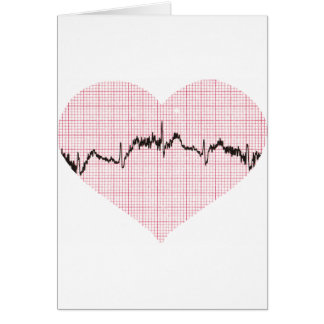 Heart Beat III Greeting Card