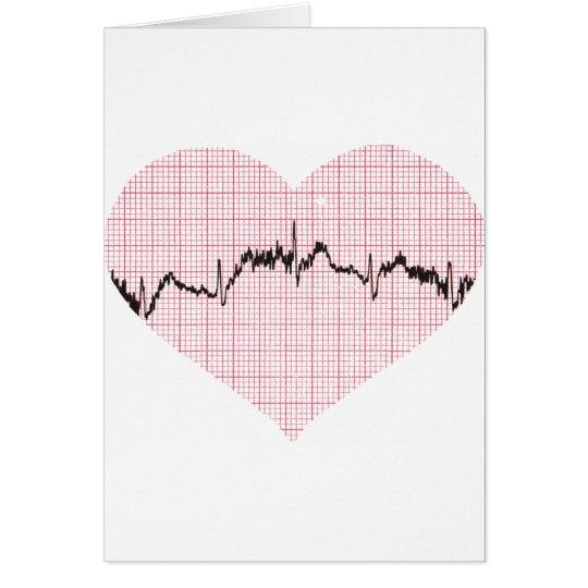 Heart Beat III Card