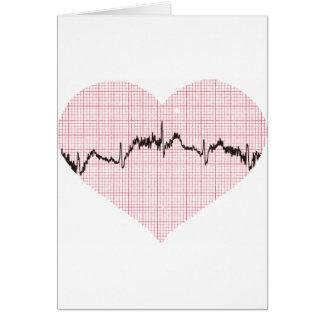 Heart Beat III Greeting Card