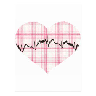 Heart Beat III Postcard