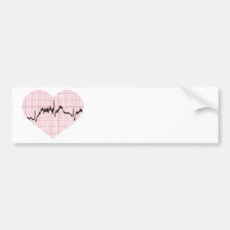 Heart Beat VII Bumper Sticker