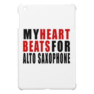 HEART BEATS FOR ALTO SAXOPHONE CASE FOR THE iPad MINI