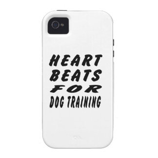 Heart Beats For Dog Training Case For The iPhone 4