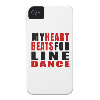 HEART BEATS FOR LINE DANCING iPhone 4 COVER