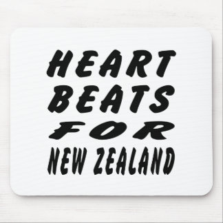 Heart Beats For New Zealand Mouse Pad