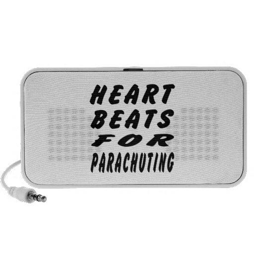 Heart Beats For Parachuting iPod Speaker