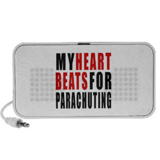 HEART BEATS FOR PARACHUTING SPEAKERS