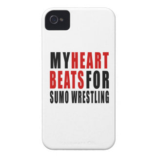 HEART BEATS FOR SUMO WRESTLING Case-Mate iPhone 4 CASES
