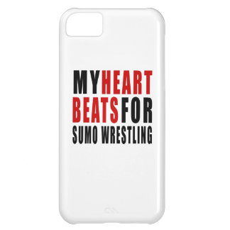 HEART BEATS FOR SUMO WRESTLING iPhone 5C CASE