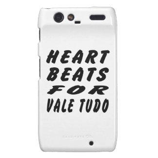Heart Beats For Vale Tudo Martial Arts Droid RAZR Covers