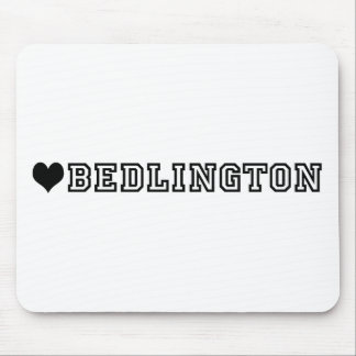 (heart) BEDLINGTON Mouse Pad