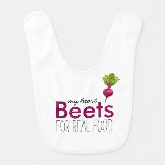 Heart Beets Bib