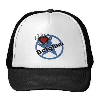 Heart Belgium Hats