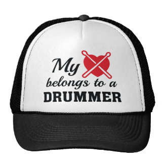 Heart Belongs Drummer Cap