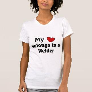 Heart belongs to a welder T-Shirt